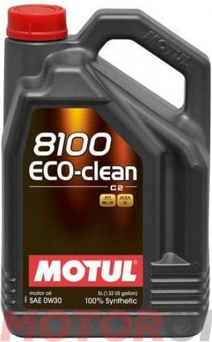 MOTUL 8100 Eco-clean 0W-30 5 литров