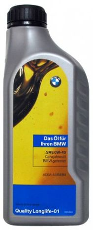 BMW Quality Longlife-01 0W-40 1 литр