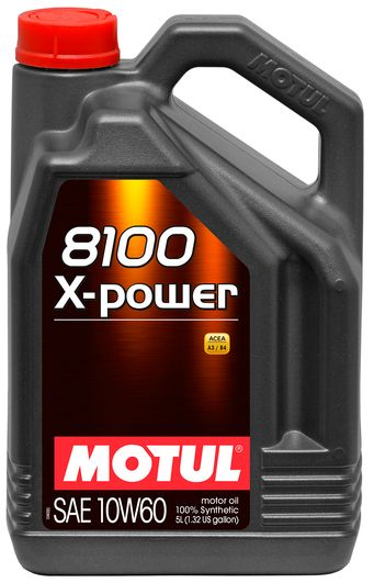 MOTUL 8100 X-Power 10W-60 5 литров