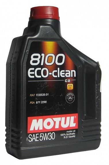 MOTUL 8100 Eco-clean 5W-30 2 литра