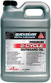 QUICKSILVER Premium 2-Cycle Outboard Oil TC-W3
