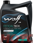 WOLF Official Tech 10W-40 ULTRA MS