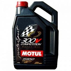 MOTUL 300V Competition 15W-50 5 литров