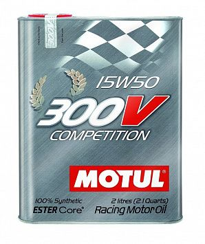 Motul 300V Competition 15W-50 2 литра