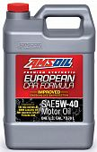 AMSOIL European Car Formula Mid-SAPS Synthetic Motor Oil 5W-40