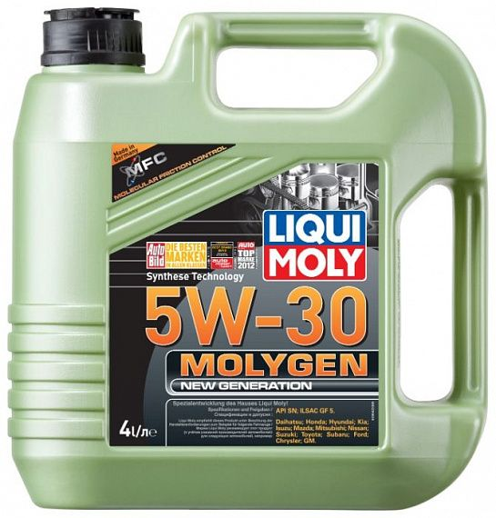 LIQUI MOLY Molygen New Generation 5W-30 4 литра