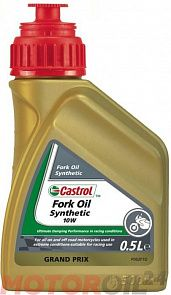 Масло для вилок CASTROL Synthetic Fork Oil 10W 0,5 литра
