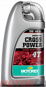 MOTOREX Cross Power 4T 5W-40