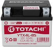 Аккумулятор TOTACHI MOTO YTX4L-BS 3,5 а/ч L