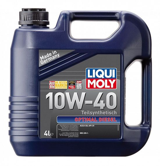 LIQUI MOLY Optimal Diesel 10W-40 4 литра