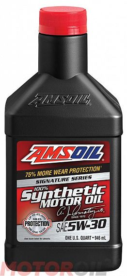 AMSOIL Signature Series Synthetic Motor Oil 5W-30 0,946 литра
