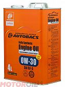 AUTOBACS Fully Synthetic 0W-30 SN/GF-5