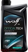 WOLF Official Tech 5W-30 C1
