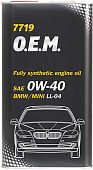 MANNOL 7719 O.E.M. for BMW Mini  0W-40
