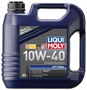 LIQUI MOLY Optimal 10W-40 4 литра