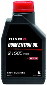MOTUL NISMO Competition Oil 2108E 0W-30 1 литр