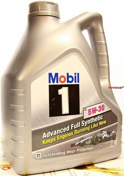 MOBIL 1 Advanced Full Synthetic 5W-30 4 литра