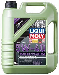 LIQUI MOLY Molygen New Generation 5W-40 5 литров