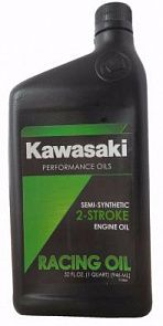 KAWASAKI Semi-Synthetic 2-Stroke Racing Oil 0,946 литра