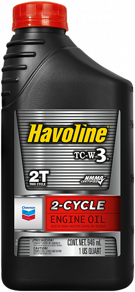 CHEVRON Havoline 2-cycle TC-W3 0,946 литра