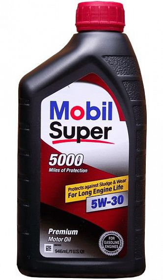 MOBIL Super 5000 SAE 5W-30 0,946 литра