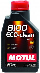 MOTUL 8100 Eco-clean 5W-30 1 литр