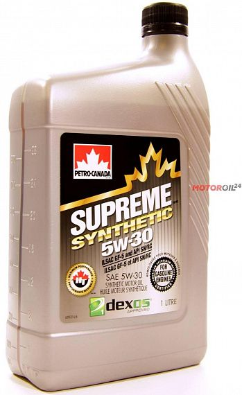 PETRO-CANADA Supreme Synthetic 5W-30 1 литр