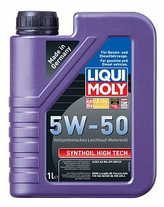 LIQUI MOLY Synthoil High Tech 5w-50 1 литр