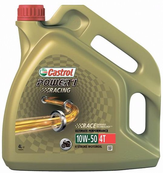 CASTROL Power 1 Racing 4T 10W-50 4 литра