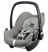 Детское автокресло MAXI-COSI Pebble + База FamilyFix Grey Gravel by Quinny