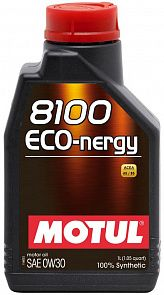 MOTUL 8100 Eco-nergy 0W-30 1 литр