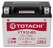 Аккумулятор TOTACHI MOTO YTX12-BS 12 а/ч R