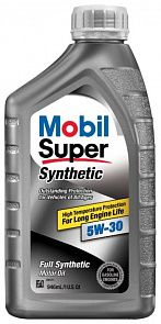 MOBIL Super Synthetic 5W-30 0,946 литра