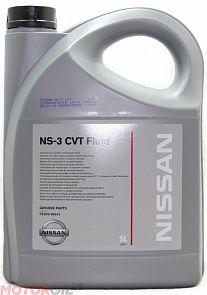 Трансмиссионное масло NISSAN CVT Fluid NS-3