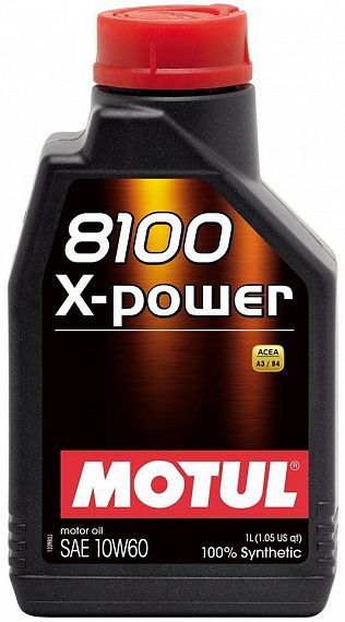 MOTUL 8100 X-Power 10W-60 1 литр