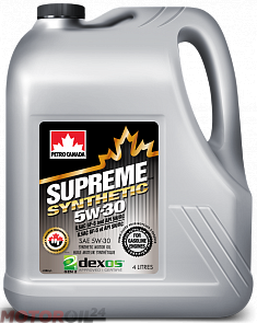 PETRO-CANADA Supreme Synthetic 5W-30 4 литра