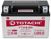 Аккумулятор TOTACHI MOTO YTX9-BS 9 а/ч R