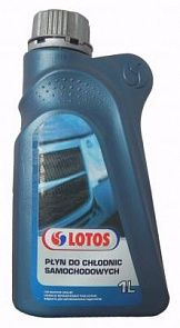 Антифриз LOTOS Car Radiator Coolant 1 литр